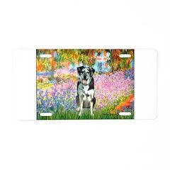 Garden / Catahoula Leopard Dog Aluminum License Pl