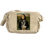 Mona's Catahoula Leopard Messenger Bag