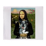 Mona's Catahoula Leopard Throw Blanket