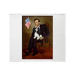 Lincoln & Tri Cavalier Throw Blanket