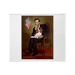 Lincoln's Cavalier Throw Blanket