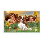 Angels & Cavalier 20x12 Wall Decal