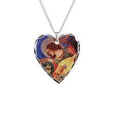 Angel (3) & Cavalier (BT) Necklace Heart Charm