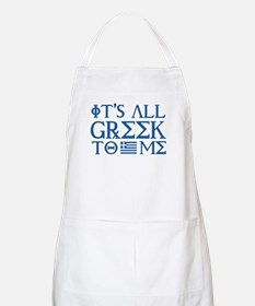 It's All Greek Apron