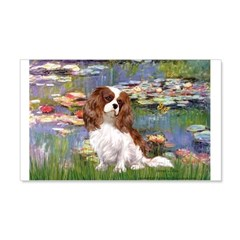 Lilies2 & Cavalier Wall Decal