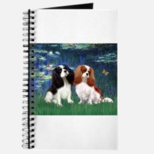 Lilies (5) & Cavalier Pair Journal