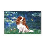 Lily Pond (#5) / Cavalier 20x12 Wall Decal