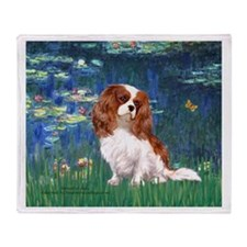 Lily Pond (#5) / Cavalier Throw Blanket
