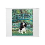 Bridge / Tri Cavalier Throw Blanket