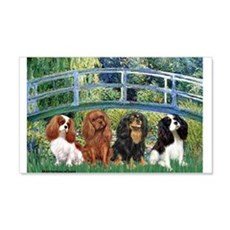 Bridge & 4 Cavaliers Wall Decal