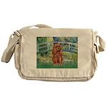 Bridge & Ruby Cavalier Messenger Bag