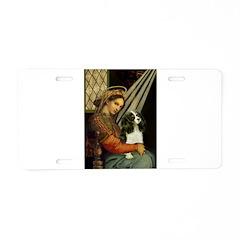Madonna & Tri Cavalier Aluminum License Plate