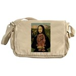 Mona's Ruby Cavalier Messenger Bag