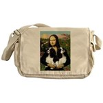 Mona's 2 Cavaliers Messenger Bag