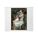 Ophelia & Cavalier Throw Blanket