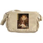 The Queen's Cavaliler Messenger Bag