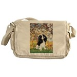 Spring & Tri Cavalier Messenger Bag