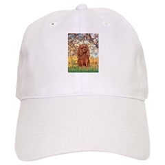 Spring and Ruby Cavalier Baseball Cap