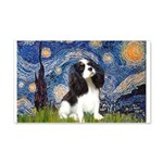 Starry Night Tri Cavalier 20x12 Wall Decal