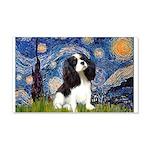 Starry Night Tri Cavalier 20x12 Wall Decal