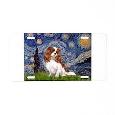 Starry Night Cavalier (2B) Aluminum License Plate