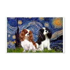 Starry Cavalier Pair Wall Decal