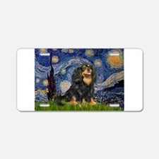 Starry Night Cavalier Aluminum License Plate