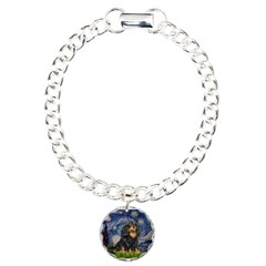 Starry Night Cavalier Charm Bracelet, One Charm