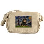Starry Night Cavalier Messenger Bag