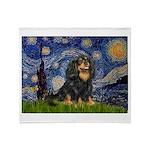 Starry Night Cavalier Throw Blanket