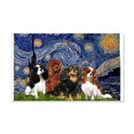 Starry / 4 Cavaliers 20x12 Wall Decal