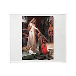 Princess & Cavalier Throw Blanket