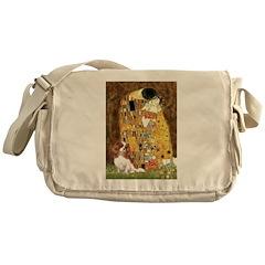 The Kiss & Cavalier Messenger Bag