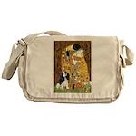 The Kiss & Tri Cavalier Messenger Bag