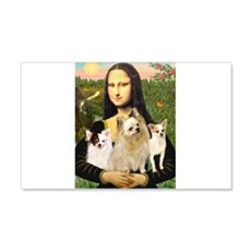Mona / 3 Chihs Wall Decal