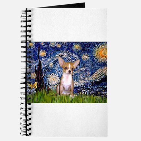Starry Night Chihuahua Journal