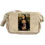 Mona / C Crested(HL) Messenger Bag