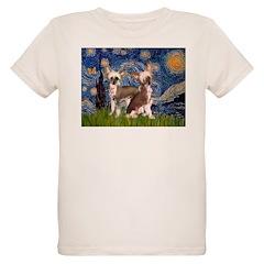 Starry Night / 2Chinese Crest T-Shirt