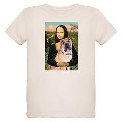 Mona Lisa's Shar Pei (#5) Organic Kids T-Shirt