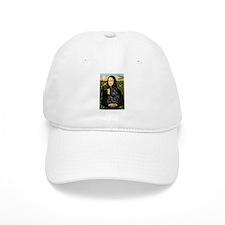 Mona's Black Shar Pei Baseball Cap