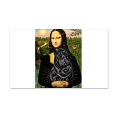 Mona's Black Shar Pei Wall Decal