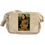 Mona /Chow Chow #1 Messenger Bag