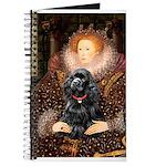 Queen / Cocker Spaniel (blk) Journal