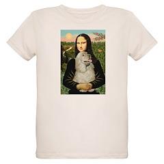 Mona Lisa /Cocker Spaniel T-Shirt