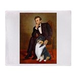 Lincoln / Collie (tri) Throw Blanket