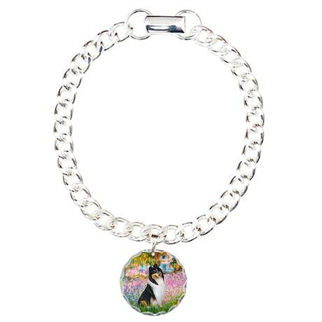 Garden / Collie Charm Bracelet, One Charm