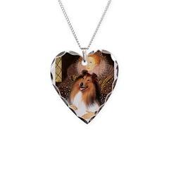 Queen / Collie (tri) Necklace
