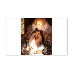 Queen / Collie (tri) Wall Decal