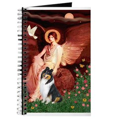 Seated Angel / Collie (tri) Journal