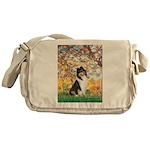 Spring / Collie Messenger Bag